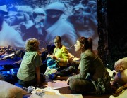 WW1 / War Horse Sleep Over. Birmingham Hippodrome. 25th October