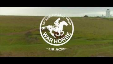 War Horse on the White Cliffs of Dover